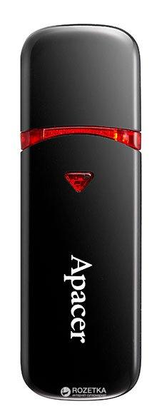 Apacer AH333 16GB Black (AP16GAH333B-1) - зображення 1