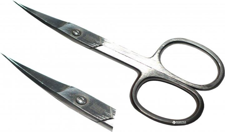 Ножницы маникюрные для ногтей Zauber-manicure сатиновые 01-172L (4004904801721) - изображение 1