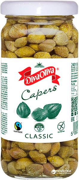 Каперсы Diva Oliva 240 г (5060235654534) - изображение 1