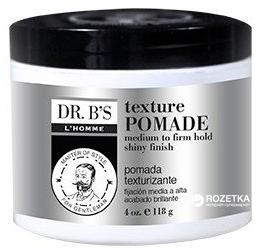 Паста для укладання Dr. B's L'Homme Man Care Texture Pomade 118 мл (755439352861) - зображення 1