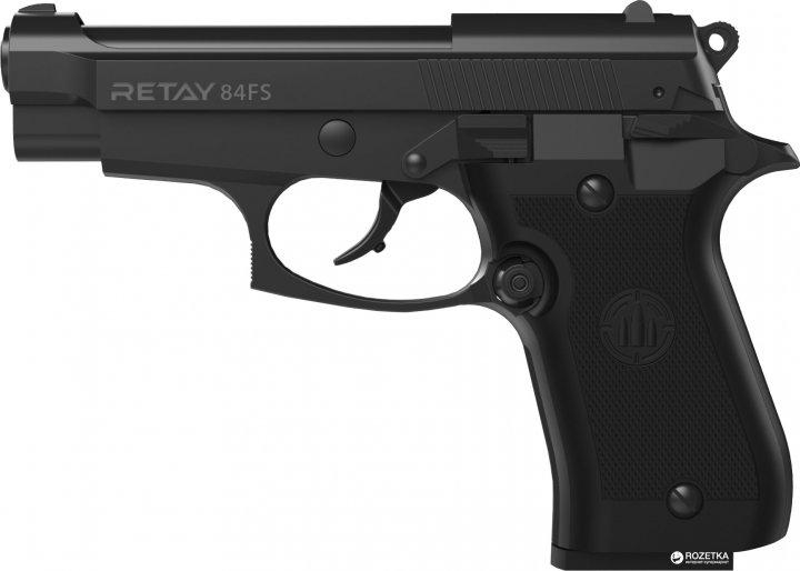 Стартовий пістолет Retay 84FS 9 мм Black (11950422) - зображення 1