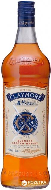 Виски Claymore 1 л 40% (5010196020138) - изображение 1