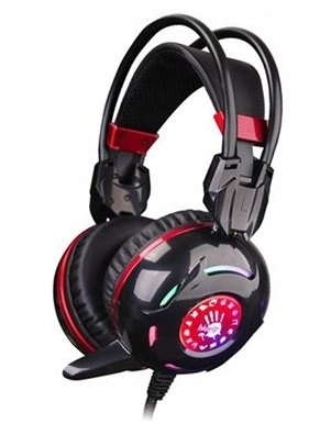 Гарнитура A4Tech Bloody G300 (Black+Red) - изображение 1