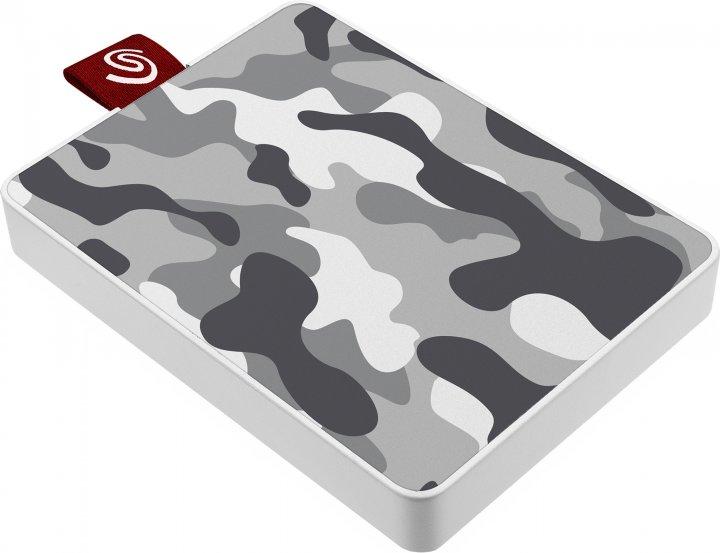 "Seagate One Touch SSD 500GB 2.5"" USB 3.0 Camo Grey (STJE500404) External - зображення 1"