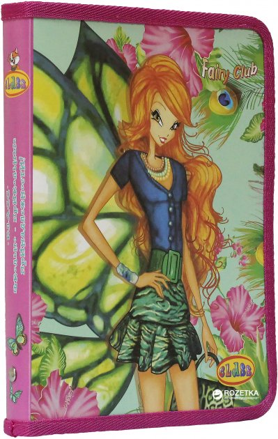 Папка для тетрадей Class Flower Fairy Club В5 на молнии (8591662562309) - изображение 1
