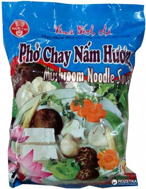Локшина рисова Bich-Chi зі смаком грибів 60 г (8934863318403) - зображення 1