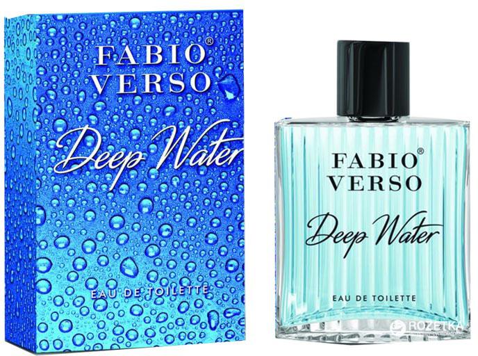 Туалетная вода для мужчин Fabio Verso Deep Water Cool water for men davidoff 100 мл (5905009047290) - изображение 1