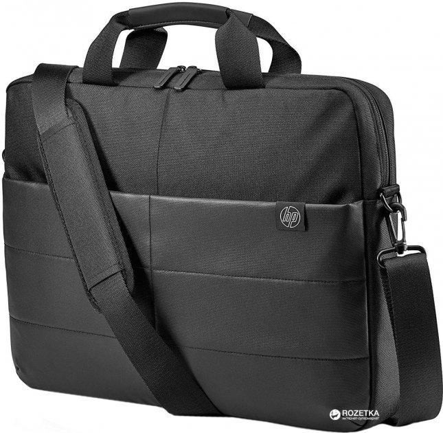 """Сумка для ноутбука HP Classic TopLoad 15.6"""" Black (1FK07AA) - зображення 1"""
