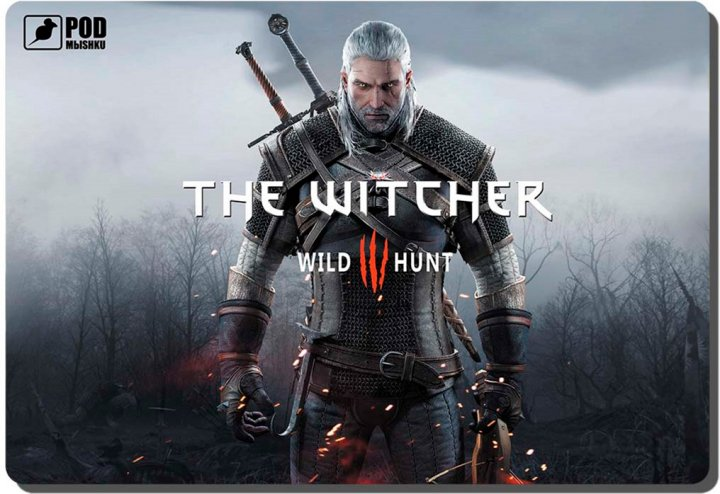 Ігрова поверхня Podmyshku The Witcher Control (GAME The Witcher-М) - зображення 1