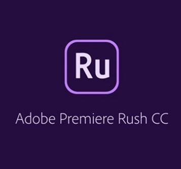 Adobe Premiere RUSH for teams. Ліцензія для комерційних організацій і приватних користувачів, річна передплата на одного користувача в межах замовлення від 10 до 49 (65297647BA02A12) - зображення 1