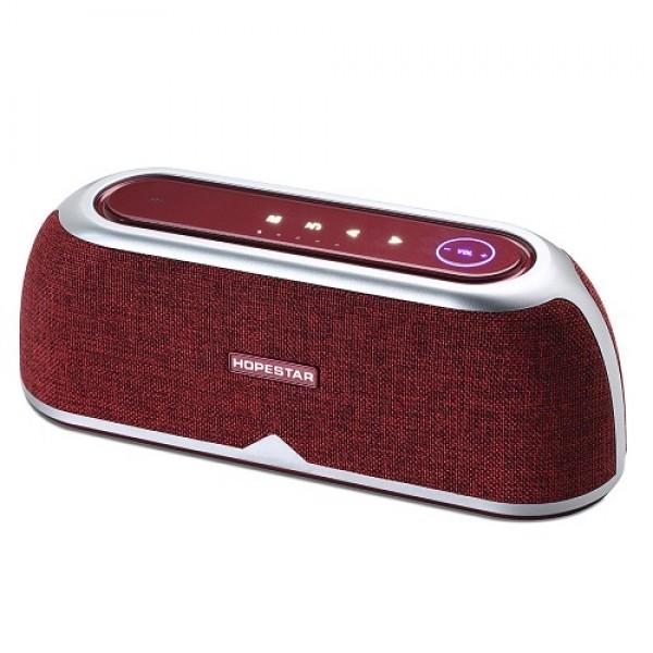 Потужна портативна bluetooth колонка Stereo A4 Red Hopestar LA28003 - зображення 1