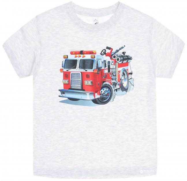 Футболка Sol's Regent Kids Truck 11970300/7 4Y 96-104 см Серая - изображение 1