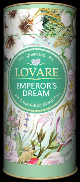 Чай зеленый китайский листовой Lovare Мечты Императора 80 г (4820198871253) - изображение 1
