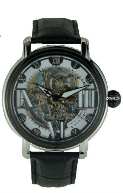 Чоловічий годинник MARTIN FERRER 13170B/Black ring - зображення 1