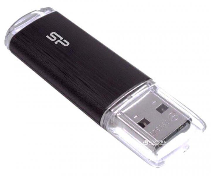Silicon Power Ultima U02 32GB Black (SP032GBUF2U02V1K) - изображение 1