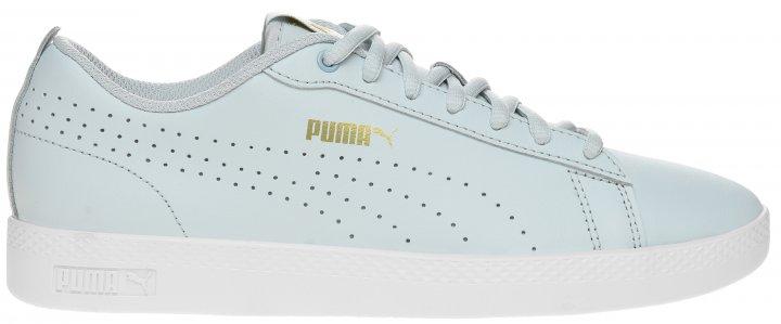 Кеды Puma Smash Wns V2 L Perf 36521615 38.5 (5.5) 24.5 см Plein Air-Team Gold-White (4062451595876) - изображение 1