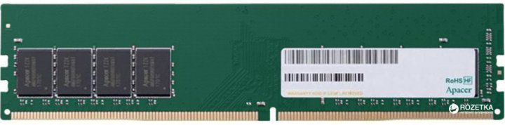 Оперативна пам'ять Apacer DDR4-2400 4096MB PC4-19200 (EL.04G2T.KFH) - зображення 1