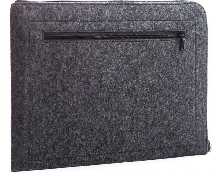 "Чохол для ноутбука Gmakin для Macbook Air/Pro 13.3"" Dark Grey (GM68) - зображення 1"