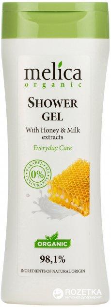 Гель для душу Melica Organic з медом і молоком 250 мл (4770416001132) - зображення 1