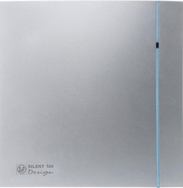 Вытяжной вентилятор SOLER&PALAU SILENT-100 CZ SILVER DESIGN - изображение 1