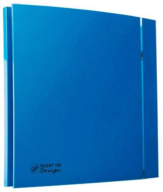 Вытяжной вентилятор SOLER&PALAU SILENT-100 CZ BLUE DESIGN 4C - изображение 1