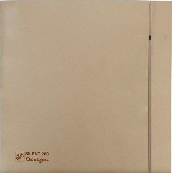 Вытяжной вентилятор SOLER&PALAU SILENT-200 CZ CHAMPAGNE DESIGN 4C - изображение 1