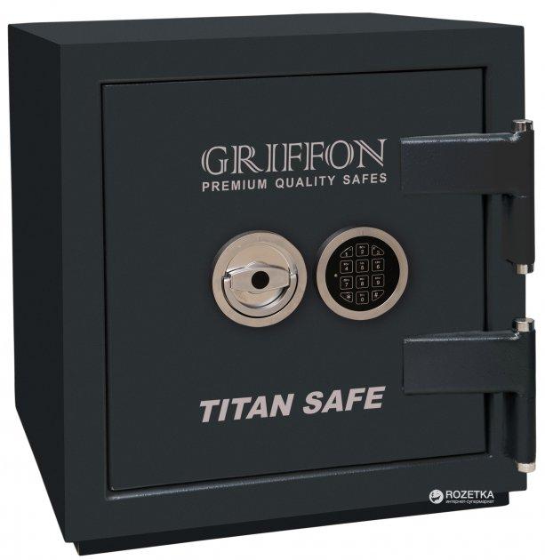 Сейф зламостійкий Griffon CL II.50.E - зображення 1