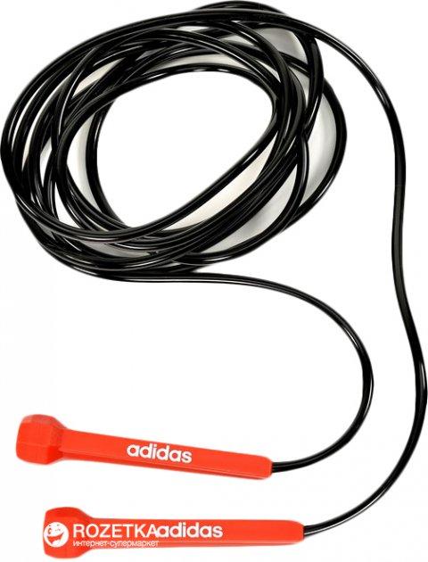 Скакалка Adidas Skipping Rope 3 м Black-Orange (ADRP-11017) - зображення 1