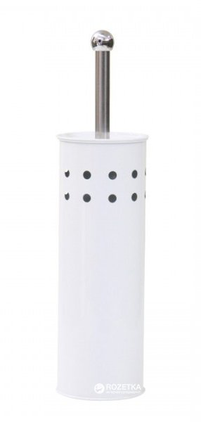 Йоршик для унітазу Axentia 282230 Білий - зображення 1