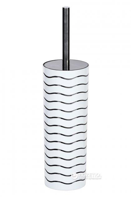 Йоршик для унітазу високий EKODEO FLEX L9016WL білий - зображення 1