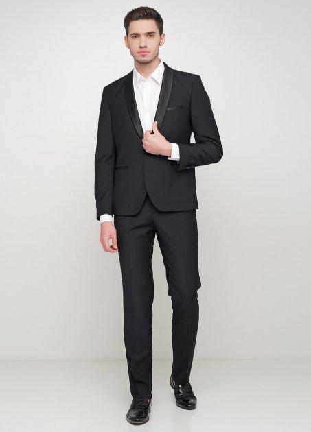 Чоловічий костюм Mia-Style MIA-292/09 54 чорний - зображення 1