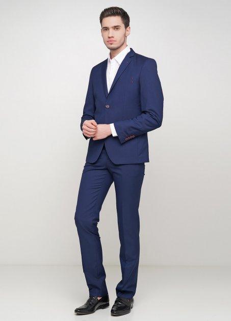 Мужской костюм Mia-Style MIA-292/10 44 темно-синий - изображение 1