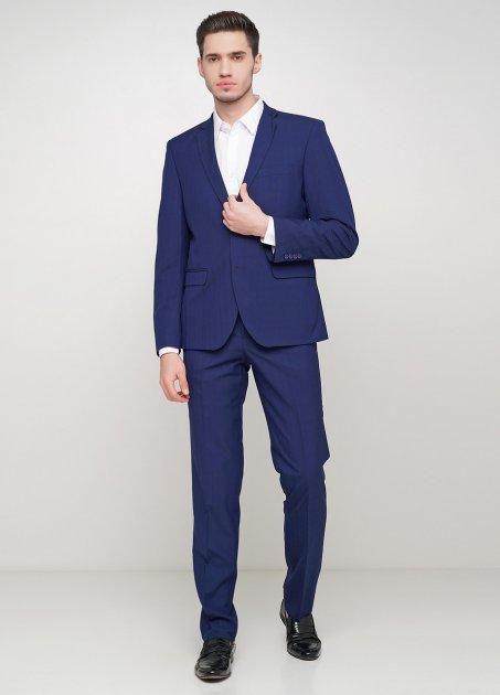 Мужской костюм Mia-Style MIA-299/02 52 темно-синий - изображение 1