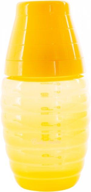 Бутылочка для кормления с широким горлом Baby Team 250 мл (1002_жовтий) - изображение 1