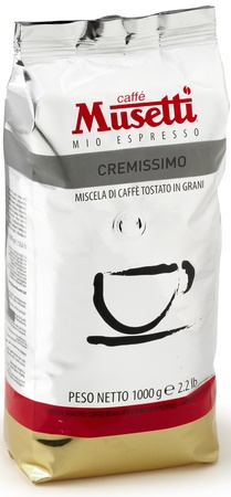 Кофе Musetti Caffe Cremissimo в зернах 1000 г - изображение 1
