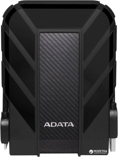 "Жорсткий диск ADATA DashDrive Durable HD710 Pro 4TB AHD710P-4TU31-CBK 2.5"" USB 3.1 External Black - зображення 1"