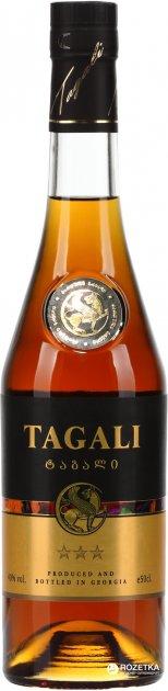 Оригинальный спиртной напиток TAGALI 3* 0.5 л 40% (4860018007714) - изображение 1