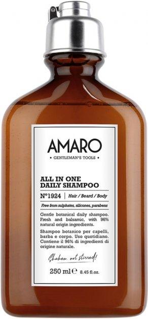 Шампунь Farmavita Amaro All In One Daily Shampoo на каждый день 250 мл (8022033104991) - изображение 1