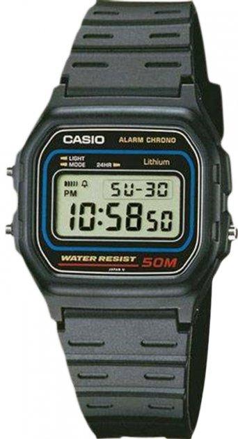 Чоловічий годинник CASIO W-59-1VQES - зображення 1