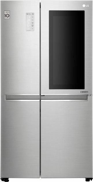 Side-by-side холодильник LG GC-Q247CADC - изображение 1