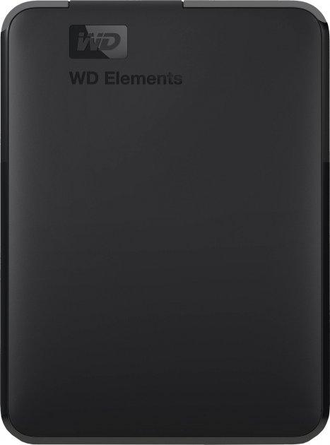 Жесткий диск Western Digital Elements 4TB WDBU6Y0040BBK-WESN 2.5 USB 3.0 External Black - изображение 1
