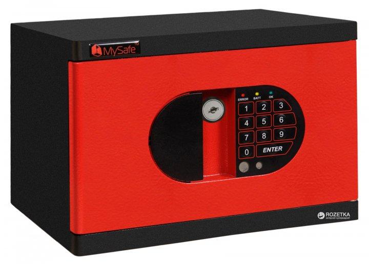 Сейф мебельный MySafe MS.17/23.K.E RED - изображение 1