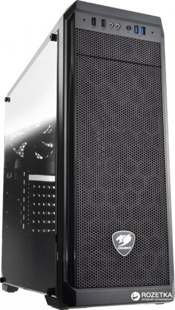 Корпус Cougar MX330-G Black - изображение 1
