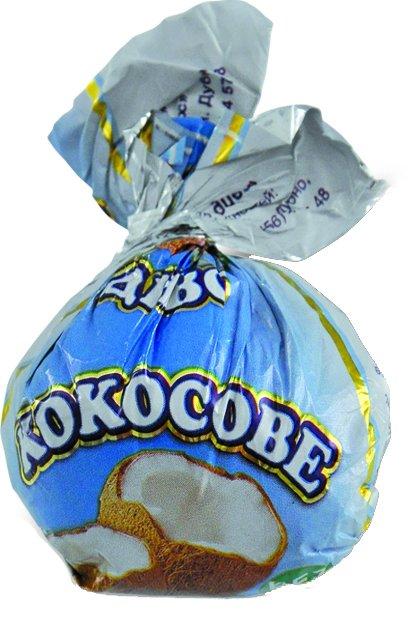 Конфеты Аметист Плюс Кокосовое чудо 1 кг (4820148610185_4820148610345) - изображение 1
