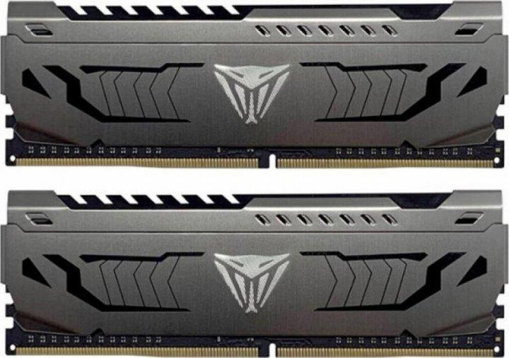 Оперативна пам'ять PATRIOT 16 GB (2x8GB) DDR4 4133 MHz Viper Steel (PVS416G413C9K) - зображення 1