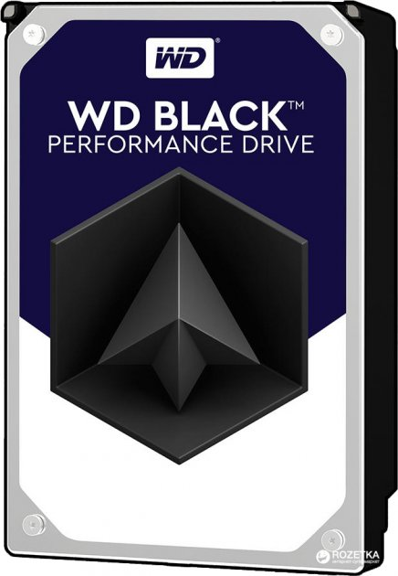 "Жорсткий диск Western Digital Black 6TB 7200rpm 256MB WD6003FZBX 3.5"" SATA III - зображення 1"