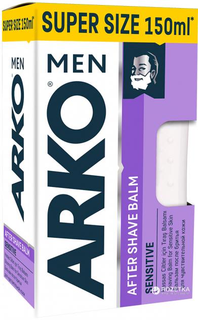 Бальзам после бритья ARKO Sensitive 150 мл (8690506436063) - изображение 1