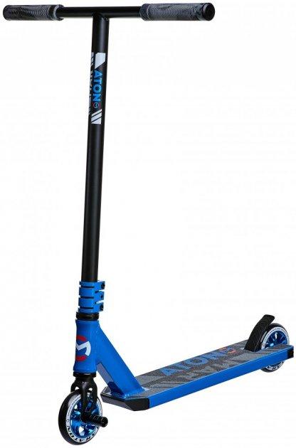 Трюковий самокат Maraton Project Original трюкової чорний синій для фрістайлу 1284 - зображення 1
