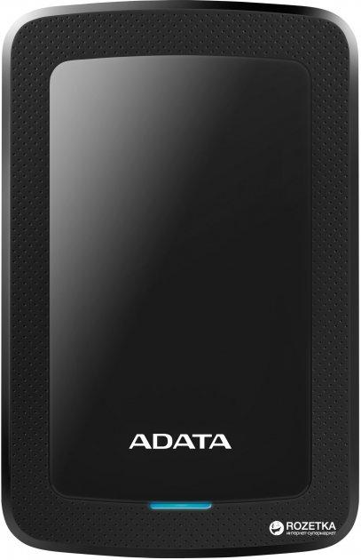 Жорсткий диск ADATA DashDrive HV300 1TB AHV300-1TU31-CBK 2.5 USB 3.1 External Slim Black - зображення 1