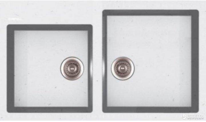 Кухонная мойка APELL Pietra Plus 860x500 PTPL862GW - изображение 1